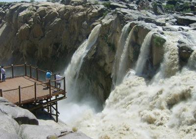 Tour 06 - Kgalagadi - Augrabies - Augrabies Falls