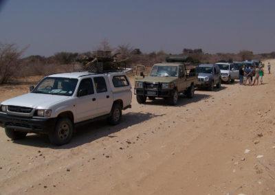 Tour 13 - Kgalagadi - Mabuasehube - Kaa 4x4 - Convoy Mabua Road