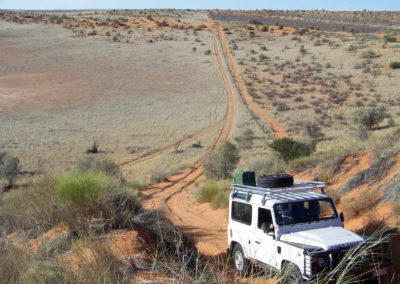 Tour 27 - Kalahari 4x4 Trail - Trail along the Namibia Border Fence