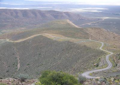 Tour 37 - Cape Town - Kimberley - Ouberg Pass, Roggeveld Mountains