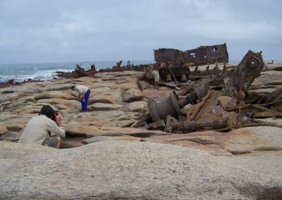 Tour 32 - Kalahari - Diamond Coast 4x4 Tour - Shipwreck of the Piratiny, Diamond Coast