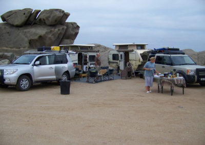 Tour 22 - Four Deserts - Accommodation - Shark Island Campground, Luderitz