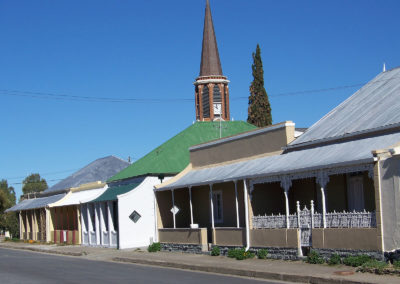 Tour 23 - Karoo - Accommodation - Typical Karoo Style houses
