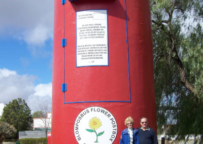 Tour 23 - Karoo - Largest Post Box in South Africa, calvinia