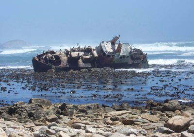 Tour 24 - Best of Northern Cape - Wreck of Jahleel, Hondeklip Bay