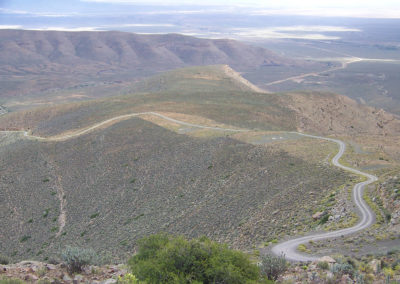 Tour 37 - Cape Town - Kimberley - Ouberg Pass, Roggeveld Mountains