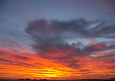 Tour 48 - Kgalagadi - Namib - Etosha - Sunset near Solitaire