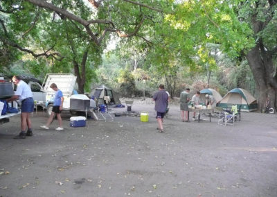 Tour 69 - Botswana Tigerfishing - Accommodation - Fishing Camp
