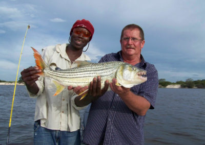 Tour 69 - Botswana Tigerfishing - Good size Tiger