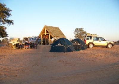 Tour 32 - Kalahari - Diamond Coast 4x4 Tour - Accommodation - Rooiputs Campsite, Kgalagadi park, Botswana