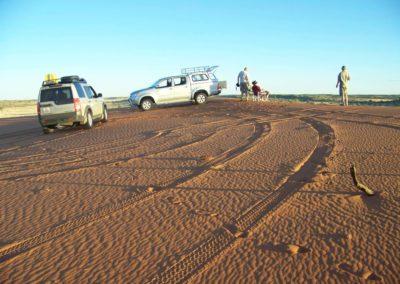 Tour 33 - Kalahari - Diamond Coast 4x4 Tour - Sundowners on the Mother Dune, Polai